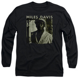 Long Sleeve: Miles Davis - Miles Portrait Shirts