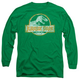 Long Sleeve: Jurassic Park - JP Orange T-shirts