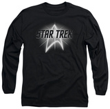 Long Sleeve: Star Trek - Glow Logo T-shirts