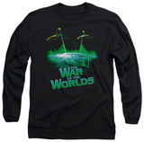 Long Sleeve: War of the Worlds - Global Attack T-shirts