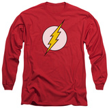 Long Sleeve: The Flash - Flash Logo Shirts
