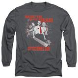 Long Sleeve: Shaun Of The Dead - Bash Em Shirts