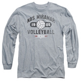 Long Sleeve: Top Gun - NAS Miramar Volleyball T-shirts