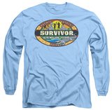 Long Sleeve: Survivor - Redemption Island T-shirts