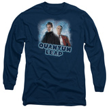 Long Sleeve: Quantum Leap - Sam & Al T-shirts