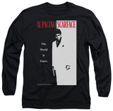 Long Sleeve: Scarface - Classic T-Shirt
