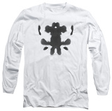 Long Sleeve: Watchmen - Rorschach Face T-Shirt