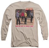 Long Sleeve: Star Trek - Red Shirt Blues T-Shirt
