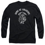 Long Sleeve: Sons Of Anarchy - SOA Reaper Shirt