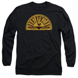 Long Sleeve: Sun Records - Traditional Logo T-Shirt