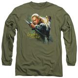 Long Sleeve: The Hobbit - Legolas Greenleaf Shirts