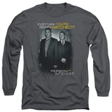 Long Sleeve: Person Of Interest - Watched T-shirts