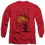 Long Sleeve: The Dark Crystal - Poster Lines T-shirts