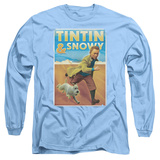 Long Sleeve: The Adventures of Tintin - Tintin & Snowy T-shirts