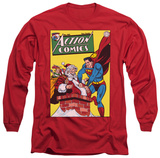 Long Sleeve: Superman - Cover No. 105 Shirts