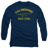Long Sleeve: Star Trek - Enterprise Athletic T-shirts