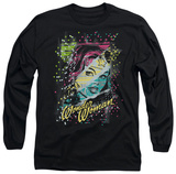 Long Sleeve: Wonder Woman - Color Block T-Shirt