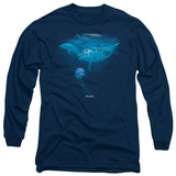 Long Sleeve: Wildlife - Pacific White T-shirts