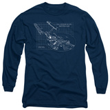 Long Sleeve: Star Trek - Enterprise Prints T-Shirt