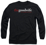 Long Sleeve: The Good Wife - Logo Shirts