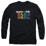 Long Sleeve: Queer As Folk - Cast T-Shirt