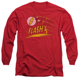 Long Sleeve: The Flash - Like Lightning T-Shirt