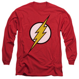 Long Sleeve: The Flash - Flash Logo T-shirts