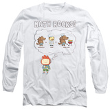 Long Sleeve: Scribblenauts - Math Rocks T-shirts