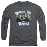 Long Sleeve: The Three Stooges - Bottoms Up T-Shirt
