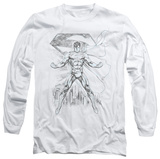 Long Sleeve: Superman - Super Sketch T-shirts
