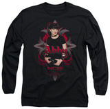 Long Sleeve: NCIS - Abby Gothic T-Shirt