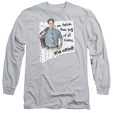 Long Sleeve: The Office - Dwight Snakes T-Shirt