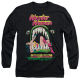 Long Sleeve: Wonder Woman - Jaws T-Shirt