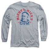 Long Sleeve: Rocky - Mighty Mick's Gym Shirts