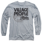 Long Sleeve: The Village People - Stamped T-shirts