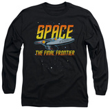 Long Sleeve: Star Trek - Space T-Shirt