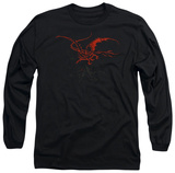Long Sleeve: The Hobbit - Smaug Shirt