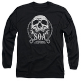 Long Sleeve: Sons Of Anarchy - SOA Club T-Shirt