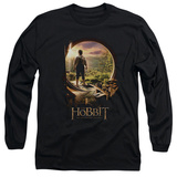 Long Sleeve: The Hobbit: An Unexpected Journey - Hobbit In Door T-shirts