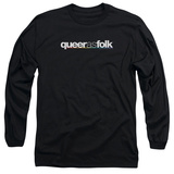 Long Sleeve: Queer As Folk - Logo Shirts