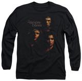 Long Sleeve: The Vampire Diaries - Smokey Veil T-Shirt