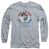 Long Sleeve: The Three Stooges - Moe For President T-Shirt