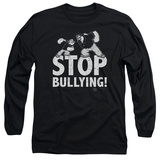 Long Sleeve: Popeye - Stop Bullying Shirt