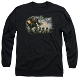 Long Sleeve: Sucker Punch - Open Fire T-Shirt