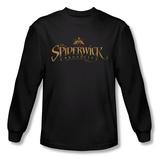 Long Sleeve: Spiderwick Chronicles - Logo T-Shirt