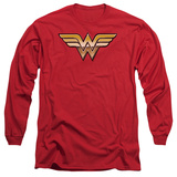 Long Sleeve: Wonder Woman - Golden T-shirts
