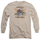 Long Sleeve: Popeye - King Of The Road Long Sleeves