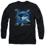 Long Sleeve: Star Trek - Starfleet Vessels T-Shirt