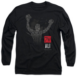 Long Sleeve: Muhammad Ali - 70 Arms Raised T-shirts