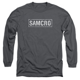 Long Sleeve: Sons Of Anarchy - Samcro T-Shirt